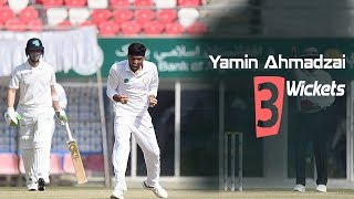 Yamin Ahmadzai's 3 Wickets Against Ireland || Only Test || Day 3 || Afg vs Ire in India 2019