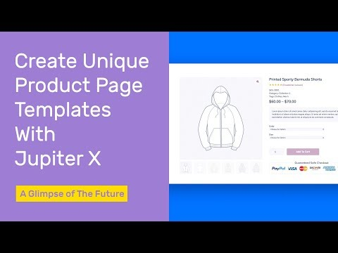Create Unique Product Page Templates with Jupiter X