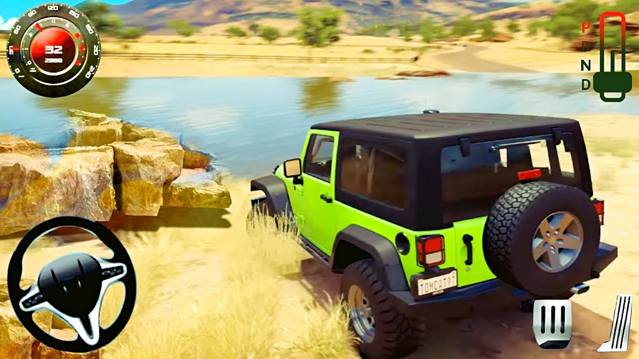 Offroad Jeep Driving Game - Super Racing 4x4 Hummer Mountain Hill Drive - BAndroid GamePlay