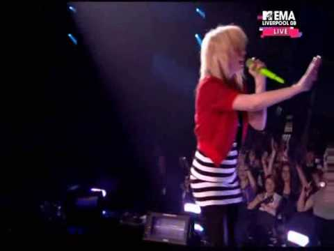 the ting tings live mtv 2008 That's not my name