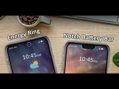Notch Battery bar - Live wallpaper