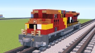 Minecraft Unstoppable AWVR 777 AC4400CW Train Tutorial