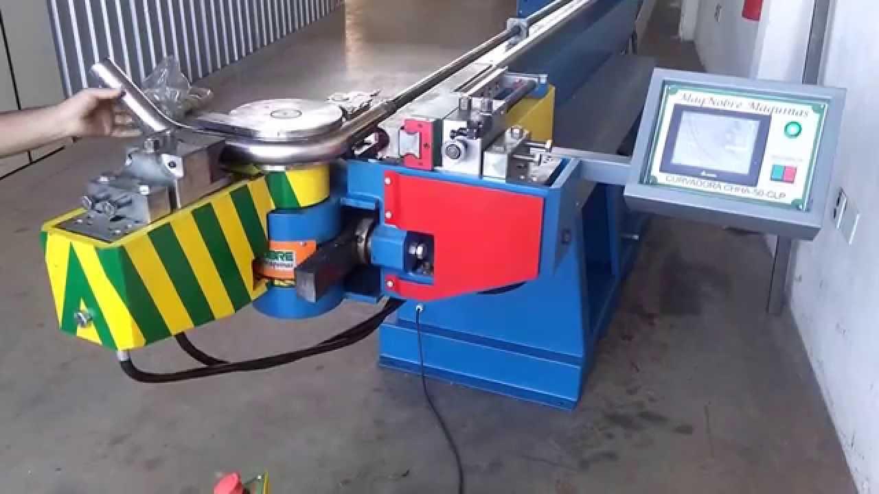 Curvadora de tubos inox youtube for Curvadora de tubos segunda mano