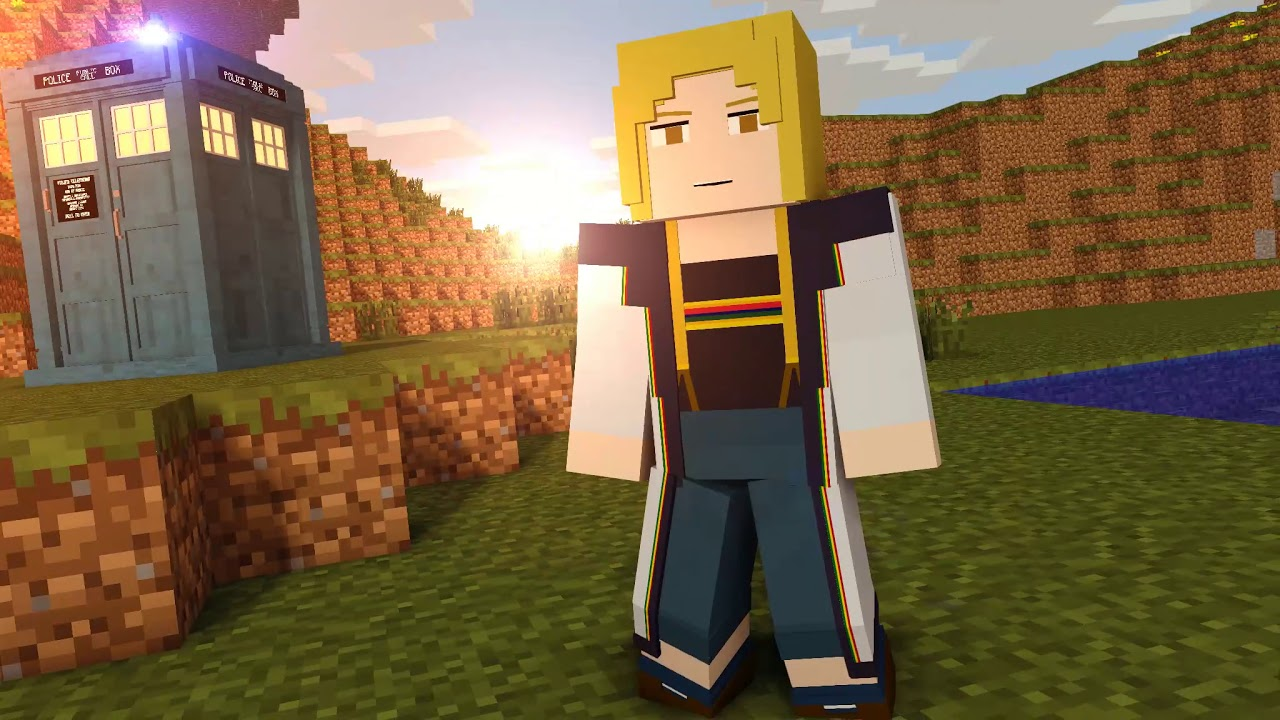 Minecraft Doctor Who   The 13th Doctor   YouTube