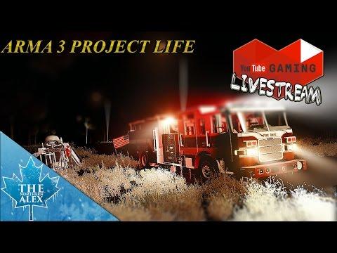 Stream Archive ArmA 3 Project Life - Fire Medics -
