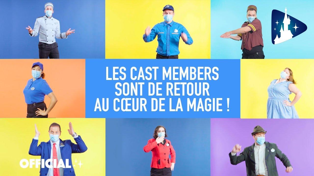 Disneyland Paris - Les Cast Members tous en scène pour recréer la Magie! ✨