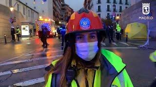 Emergencias hace balance de víctimas en la explosión de la calle Toledo