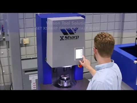 Wilson Tool XSharp Grinder : Masina automata de ascutit scule pentru masini de stantat CNC