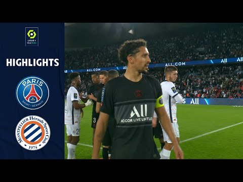PSG Montpellier Goals And Highlights