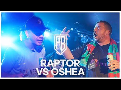 Premier Battles | Raptor Warhurst vs Oshea | Rap Battle