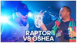 Oshea Vs Raptor Warhurst | Premier Battles | Rap Battle