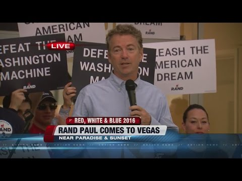 Rand Paul opens campaign offices in Las Vegas