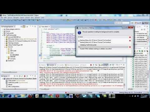 Creación Portlet JSF RichFaces