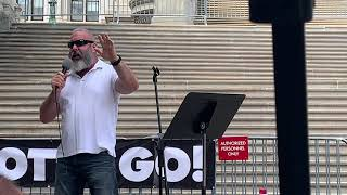 Jonathan T Gilliam Speaking At The March For Life Rally 2020