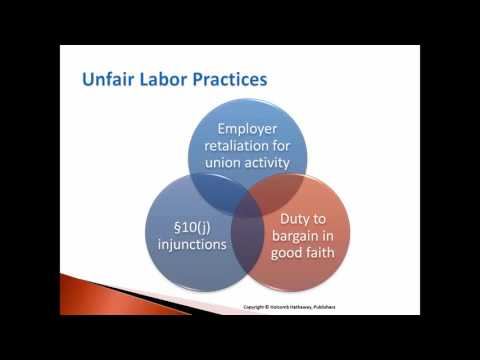 Ch. 9 Labor Relations/Collective Bargaining