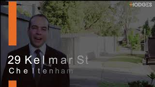 29 KELMAR STREET, CHELTENHAM – PANDELIS PLOUSI
