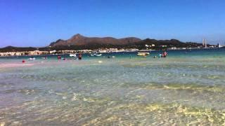 Alcudia beach in Majorca