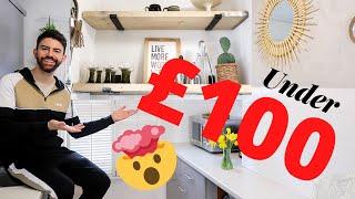 KITCHEN MAKEOVER ON A BUDGET! DIY DREAM KITCHEN UK *UNDER £100* UK | 2020 MR CARRINGTON