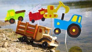 Квест.  Как мы с Лёвой искали деревянный грузовичок