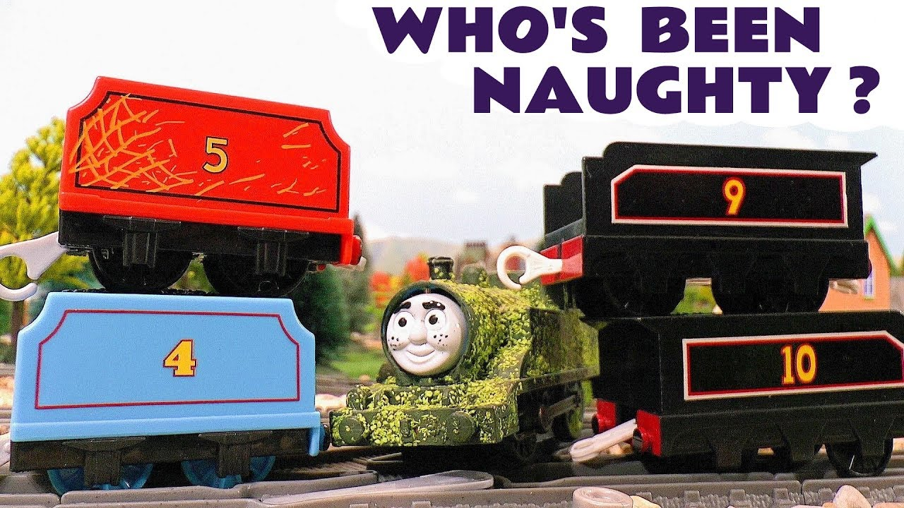 Thomas & Friends Who's Been Naughty Tom Moss Game with Lion Guard Train Toys Stories for Ki