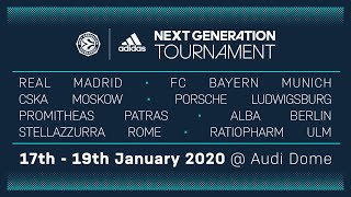 LIVE: Euroleague Basketball Adidas Next Generation Tournament 2020 | Audi Dome, Munich | Day 2