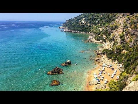 Myrtiotissa Nudist Beach - Corfu, Greece