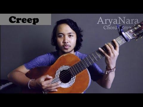 Chord Gampang (Creep - Radiohead) By Arya Nara (Tutorial Gitar)