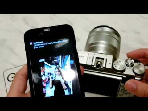 [Ginko Vol.4][How To] Fujifilm X-A3  วิธีส่งรูปโดยใช้ App Fujifilm camera remote
