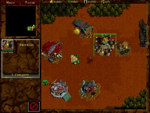 Warcraft 2 Orcs Some Building And Unit Sounds Youtube