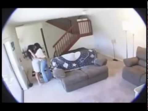 House wife hidden camera
