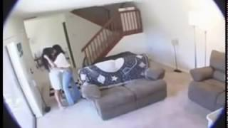 Husband's Hidden Cameras Shows His Housekeeper Wasn't Stealing, But She Was Doing?