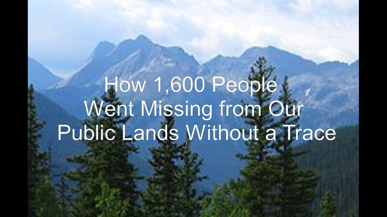 Image result for how people went missing from public lands