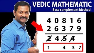 Subtraction Tricks IN Vedic Maths   Faster then Calculations   SumanTV Education