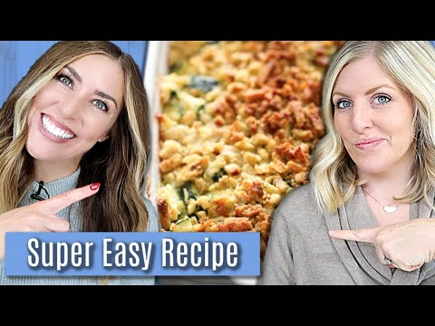 Fast and Easy Chicken Zucchini Casserole Easy Dinner Idea