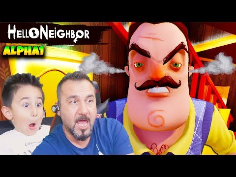 HELLO NEIGHBOR KAZIM USTA DELİRDİ! | HELLO NEIGHBOR ALPHA1