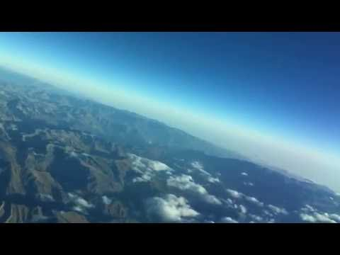 Lima-bound Andes mountain timelapse