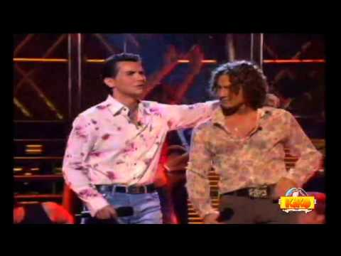 DAVID CIVERA y DAVID BISBAL - Rosas y espinas (TV)
