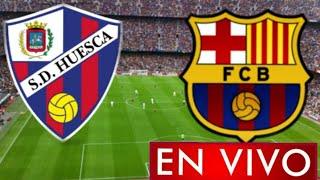 Donde ver Huesca vs. Barcelona en vivo, por la Jornada 17, La Liga Santander 2021