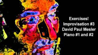 Exercises! Session, Improvisation #3 -- David Paul Mesler (piano duo)