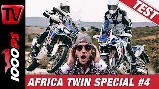 Honda AfricaTwin Alt vs Neu - Adventure Sports 2018 vs. Adventure Sports 2020 - Folge 4/4
