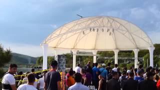 шоу на фестивали СПОРТА и ЗДОРОВЬЯ в Абрау-Дюрсо (28.04.14 )