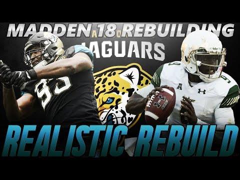 Madden 18 Connected Franchise | Jacksonville Jaguars Realistic Rebuild | The Next Michael Vick!