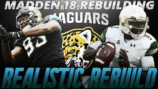 Madden 18 Connected Franchise | Jacksonville Jaguars Realistic Rebuild | The Next Michael Vick! 2017 Video