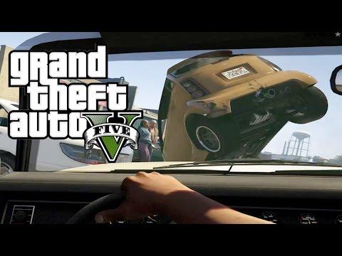 CAR CRASH COMPILATION GTA 5 thumbnail