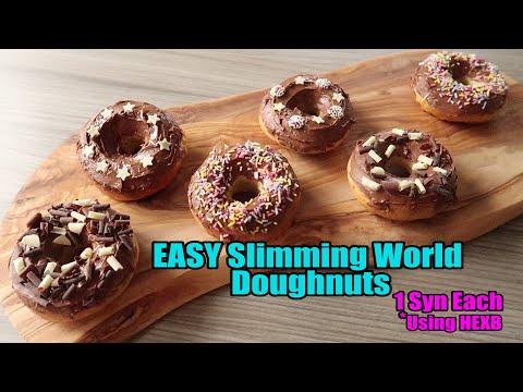 EASY Slimming World Doughnuts - 1 SYN EACH (using HEX)