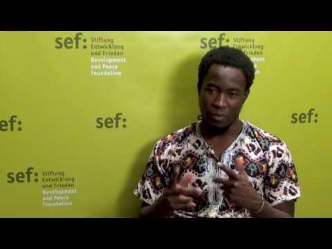 "Job Shipululo Amupanda: ""Young people can effect change"""