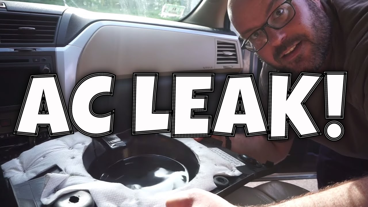 Chevy Traverse Water Leak How To Repair A Clogged Ac