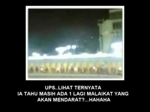 Pembohongan video Malaikat mendarat di Kabah