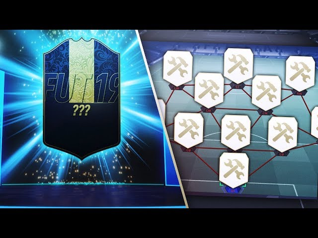 I PACKED A TOTY USING ICONCRAFTING! - FIFA 19 Ultimate Team
