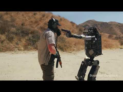 Кожаные ублюдки, робот и полигон (Озвучка пародии Boston Dynamics от Corridor)